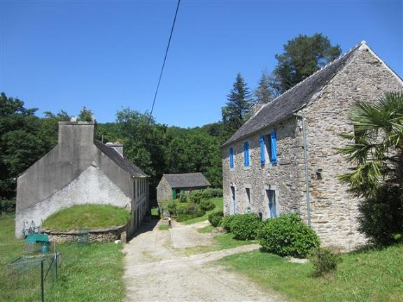 Watermill for sale in Finistere, Brittany, France