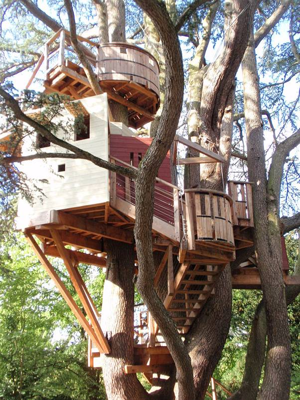 Chateau de Langeais tree house