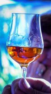 Glass Wine Tasting Cognac